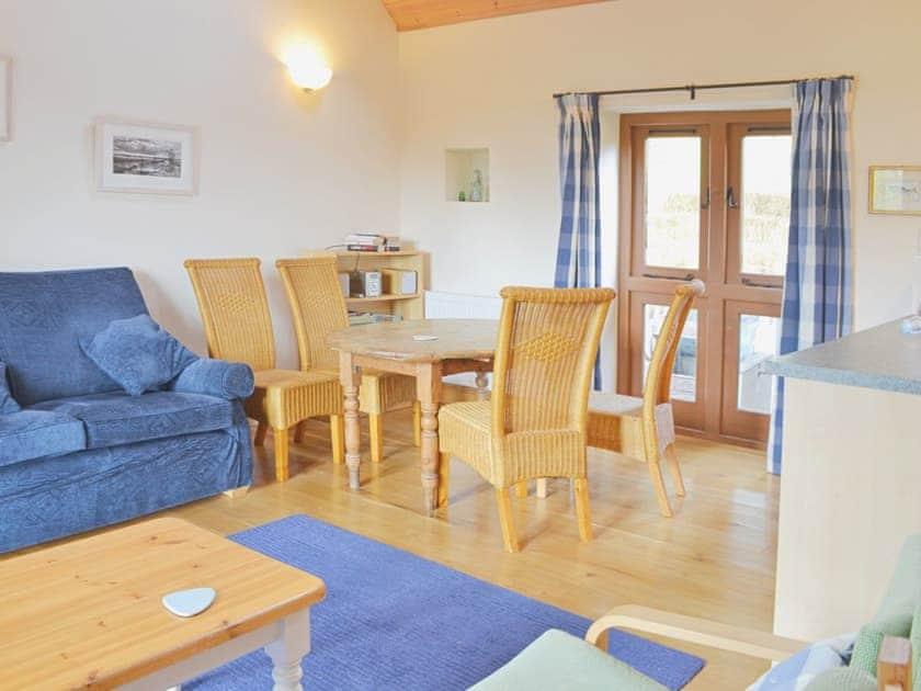 Open plan living/dining room/kitchen | The Threshing Barn, Westbury Sub Mendip, nr. Wells