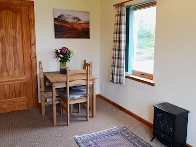 Living room/dining room | Beagan Bothan, Kiltarlity