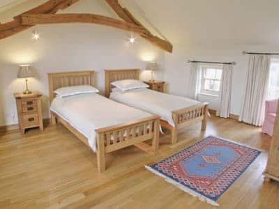 Twin bedroom | Wordsworth Cottage, Sockbridge, nr. Ullswater