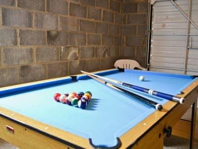 Games room | Min Y Maes, Haverfordwest