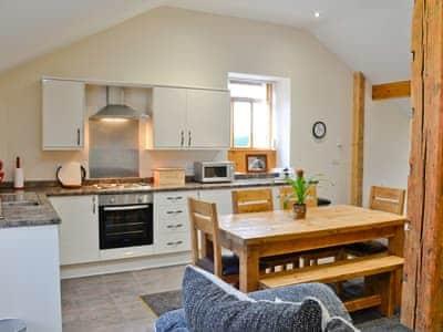 Kitchen/diner | Water Hall Farm Cottages - Little Byre, Sutton-under-Whitestonecliffe, nr. Thirsk