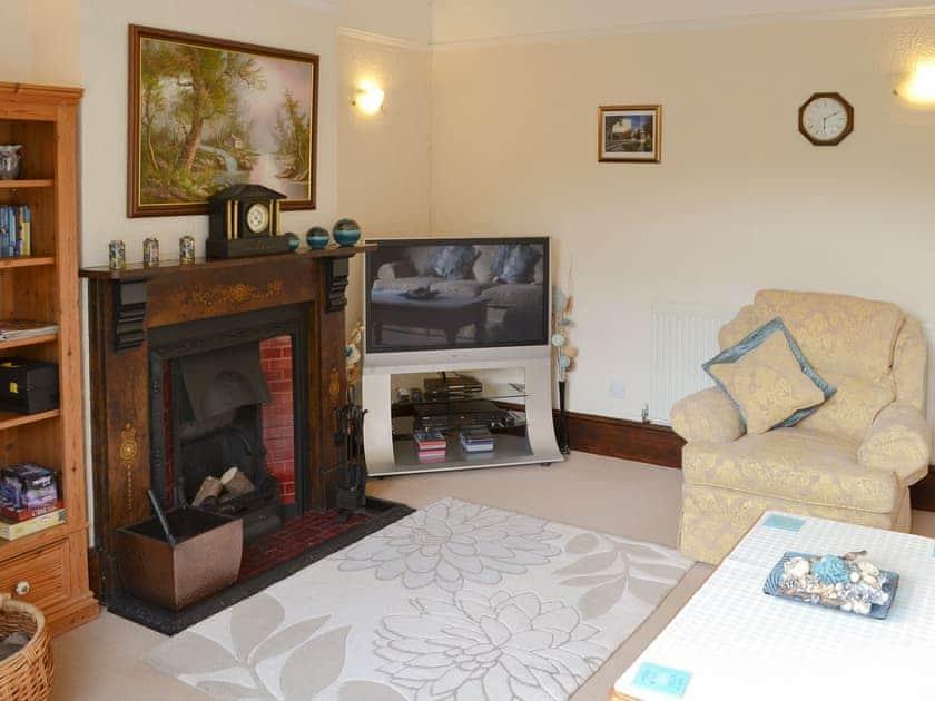 Comfortable living room | Half Moon Cottage, Martham, near Winterton