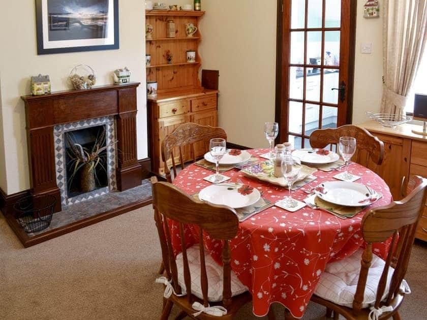 Charming dining room | Half Moon Cottage, Martham, near Winterton
