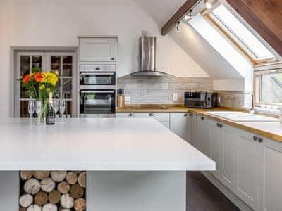 Fantastic, well equipped kitchen | Bedw Barn, Newtown