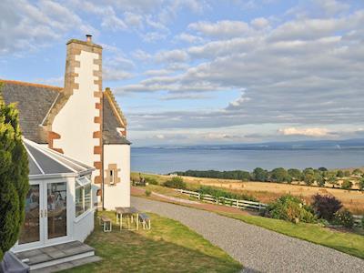 Enjoying wonderful panoramic views  | Tourie Lum, By Avoch