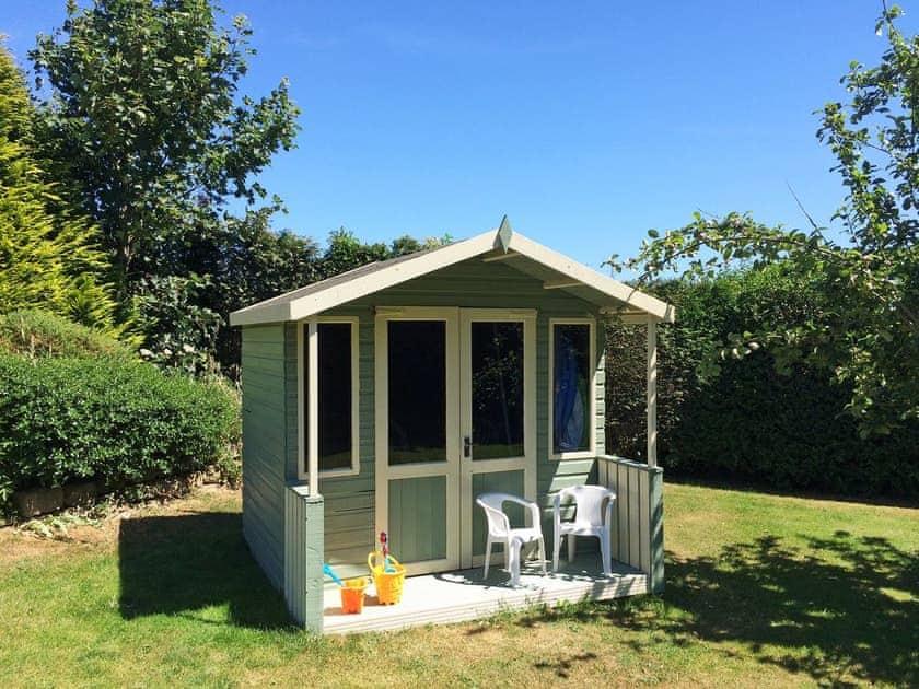 Wonderful summerhouse in garden   Carr House, Cayton, Scarborough