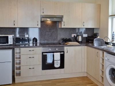 Open plan living/dining room/kitchen   Antrim Coastline View, Portpatrick