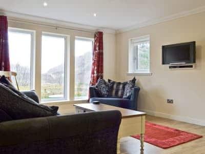 Open plan living/dining room/kitchen   Shinglebay Cottage, Kyle of Lochalsh