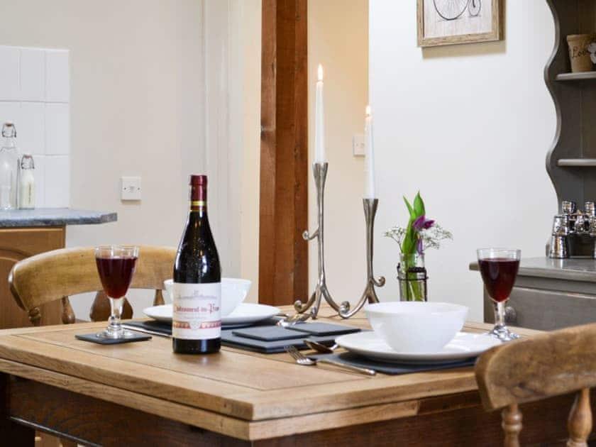 Kitchen/diner | Coastal Wood Holidays - The Nook, Marros, nr. Amroth