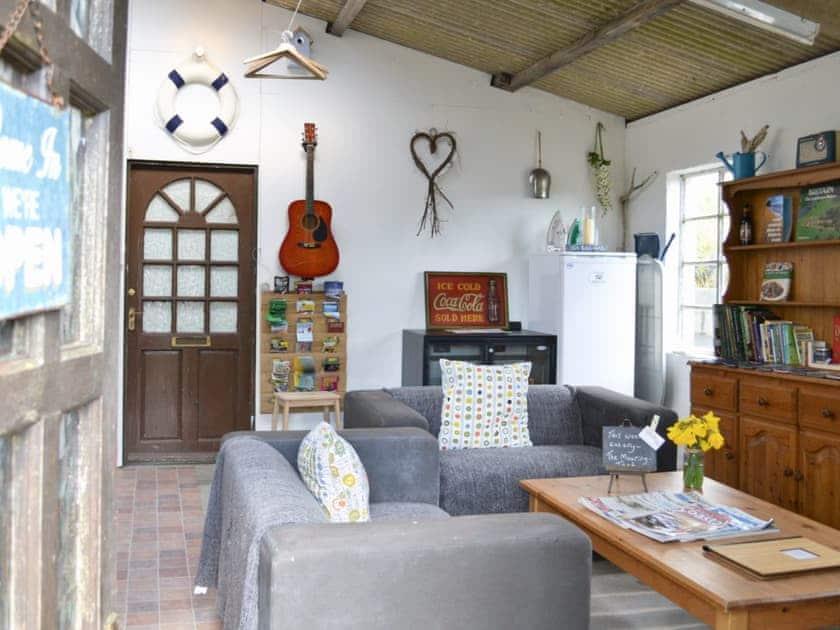 Reception area | Coastal Wood Holidays - The Nook, Marros, nr. Amroth