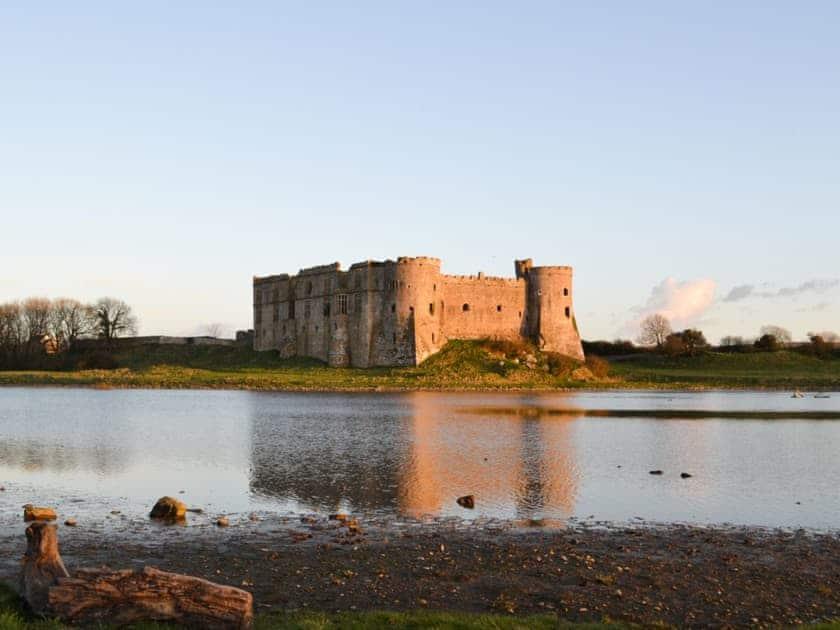 Carew castle | Coastal Wood Holidays - The Nook, Marros, nr. Amroth