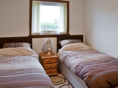 Twin bedroom | Ballochrae, Kirkcowan
