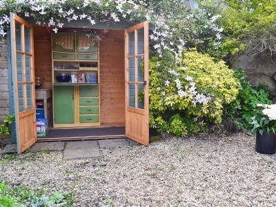 Garden |  Sands Cottage, Crail, nr. St Andrews