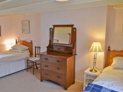 Twin bedroom | Blue Door, Kirkcudbright