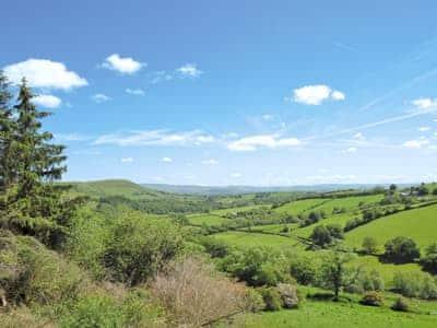 View | Valley View Barns - Lower Barn, Abbey-Cwm-Hir, nr. Llandrindod Wells