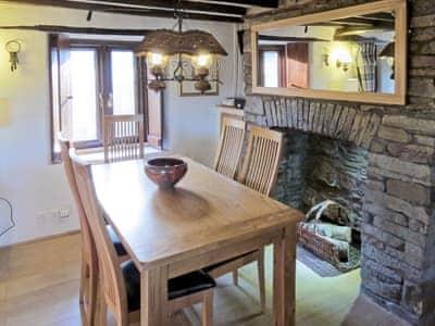 Intimate dining area | Caepost, Talgarth, near Brecon