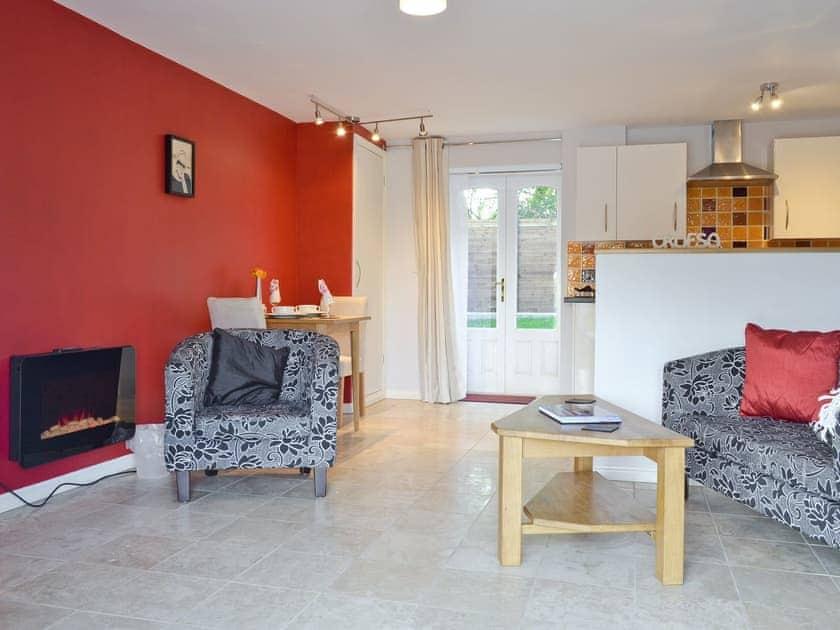 Open plan living/dining room/kitchen | Lluest Cottages - The Granary, Neuaddlwyd, nr. Aberaeron