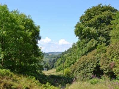 View | Pendre Isa, Pont-Rhyd-y-Groes