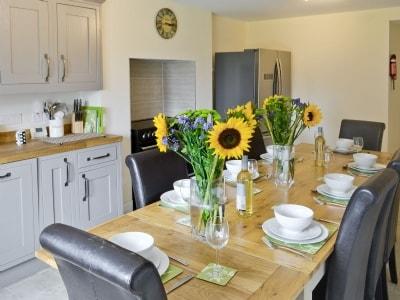 Kitchen/diner | Hauxley Cottages - The Moorings, Hauxley, nr. Amble
