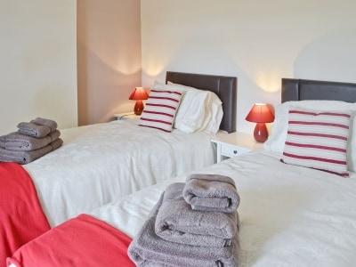 Twin bedroom   Hauxley Cottages - The Moorings, Hauxley, nr. Amble