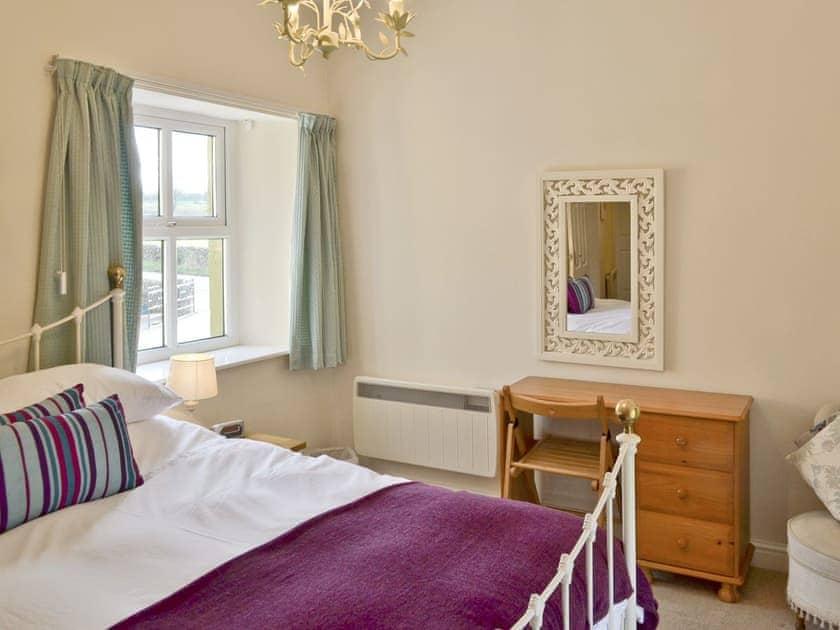 Comfortable master bedroom | River View Cottage - Bank House Farm, Hulme End, near Hartington