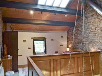 Gallery/ mezzanine   Beck House, Grisedale near Hawes