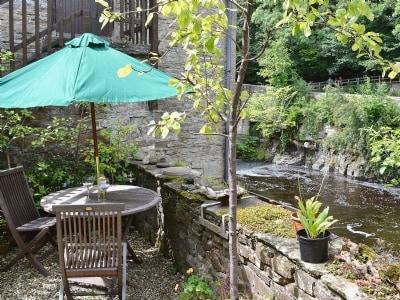 Sitting-out-area | Upper Falls View, Aysgarth Falls, nr. Leyburn