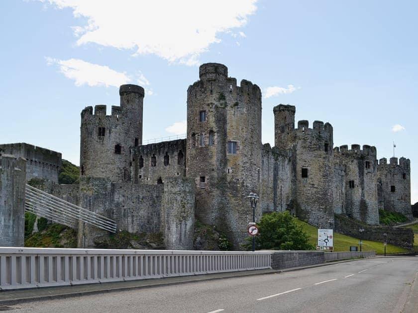 Conwy Castle   Llandudno & Colwyn Bay, Wales