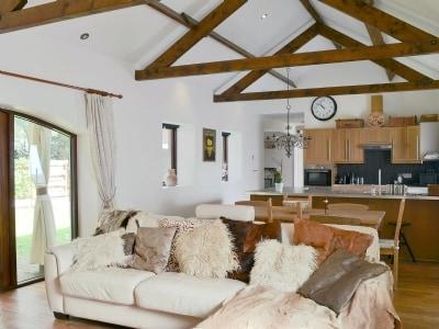 Open plan living/dining room/kitchen | Highcroft, Irthington