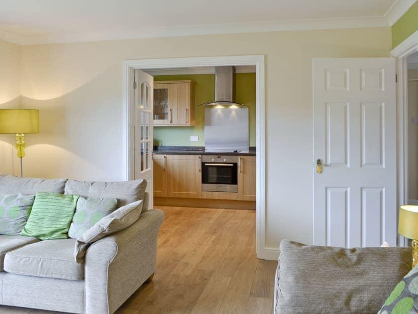 Stylish lounge adjoins kitchen/diner | Coastal Retreat, Beadnell