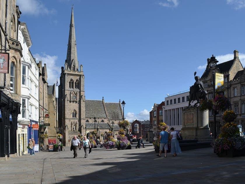 Durham Market Place | County Durham, England