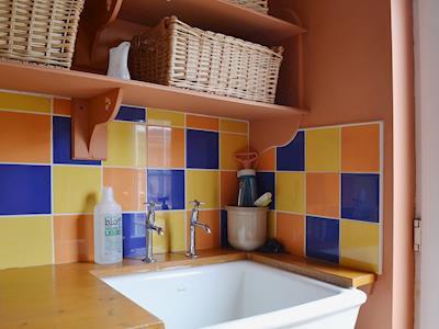 Handy utility room | Gordons Hall Cottage, Carnbee, near Anstruther