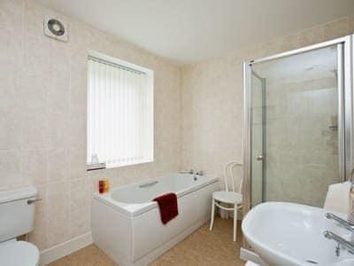 Bathroom | Old Mill Cottage, Barnbarroch, nr. Dalbeattie