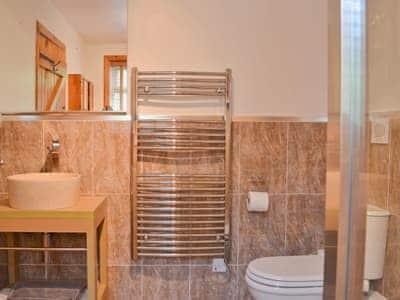 Modern en-suite shower room | Horsepark Cottage, Gatehouse of Fleet