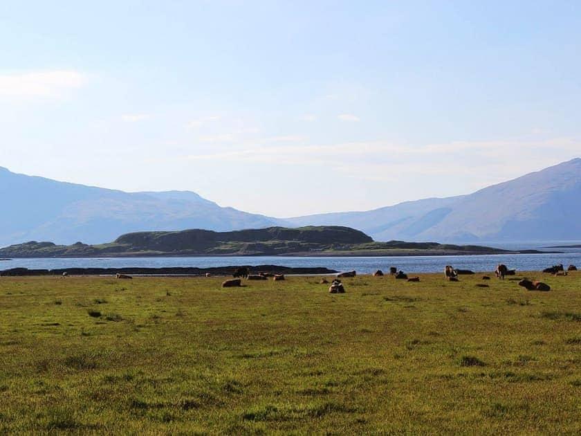 View towards Loch Lihnne | Lurach, Port Appin