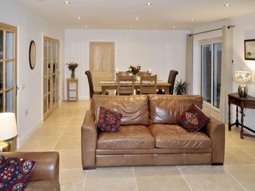 Living room/dining room   Lurach, Port Appin