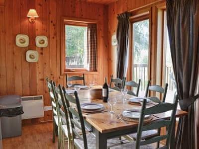 Dining room | Saffron Lodge, Cragganmore, nr. Ballindalloch