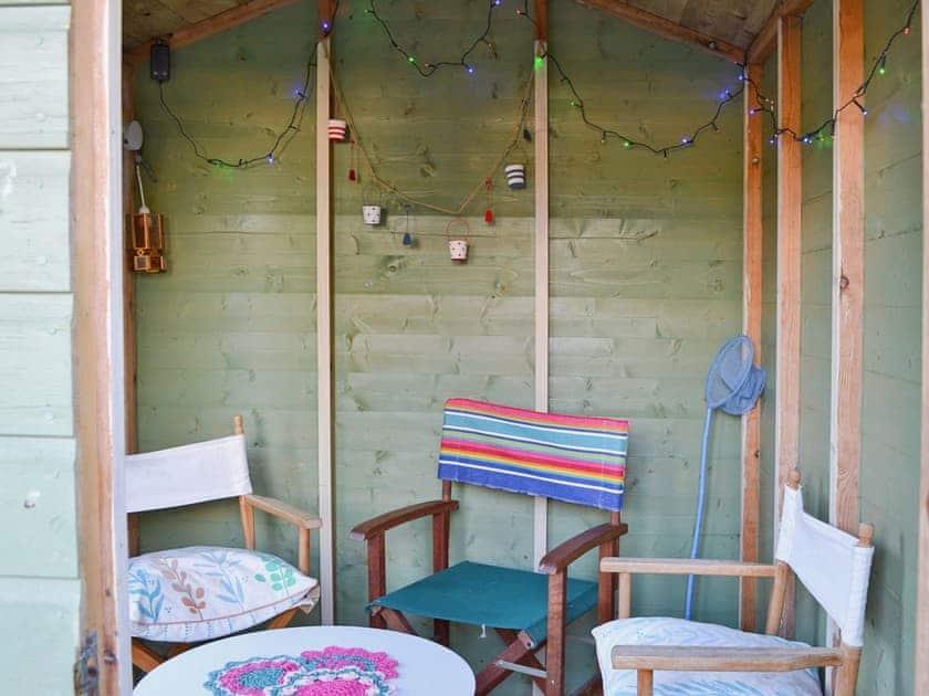 Sitting-out-area | Rosebud, Straiton, nr. Maybole