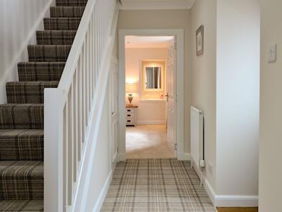 Hallway & stairs | Strowan, Ballater