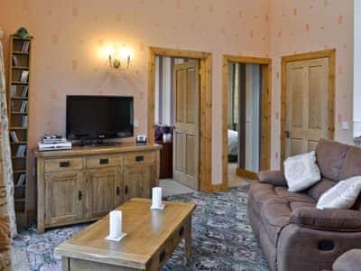 Open plan living/dining room/kitchen | The Lodge, Barrhill, nr. Girvan