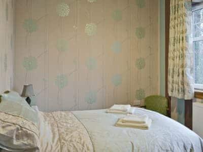 Double bedroom | The Lodge, Barrhill, nr. Girvan