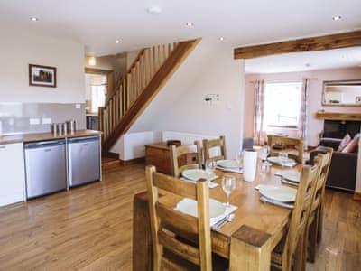 Kitchen/diner | High Kirkland Holiday Cottages: Heron View, Kirkcudbright