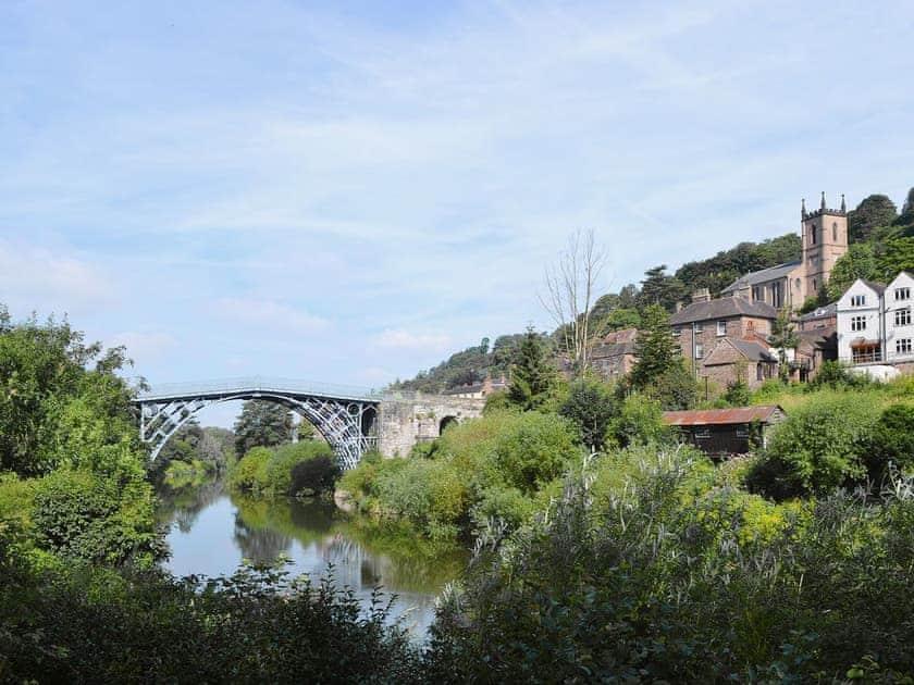 Ironbridge   Shropshire, England