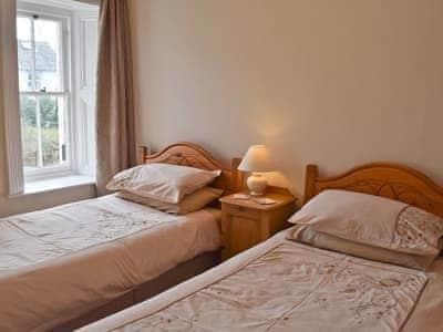 Twin Bedroom | Shorley Lodge, Keswick