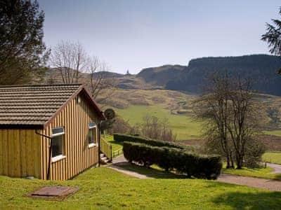Typical view | Lagnakeil Lodges - Conifers, Lerags, nr. Oban