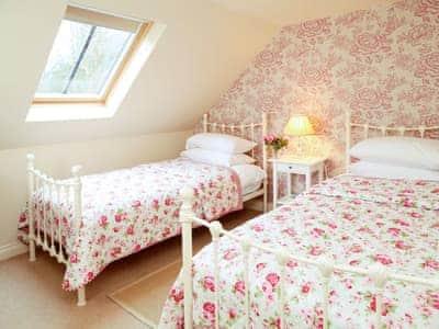 Twin bedroom | Corsewall Estate Holiday Cottages - Stables Cottage, Kirkcolm, nr. Stranraer