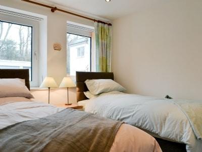 Twin bedroom | Fell View, Keswick