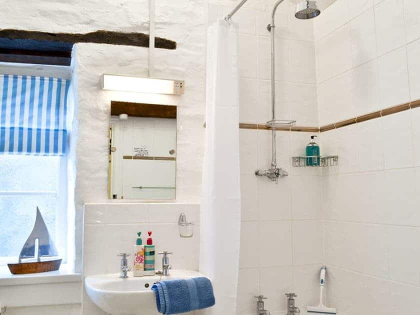 Bathroom | Yet Farm Cottage, Cenarth