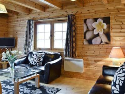 Living room   Benview Holiday Lodges - Lodge 1, Balfron, nr. Aberfoyle