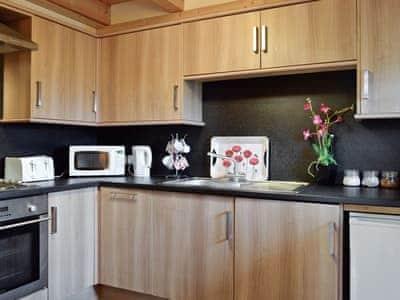 Kitchen | Benview Holiday Lodges - Lodge 1, Balfron, nr. Aberfoyle